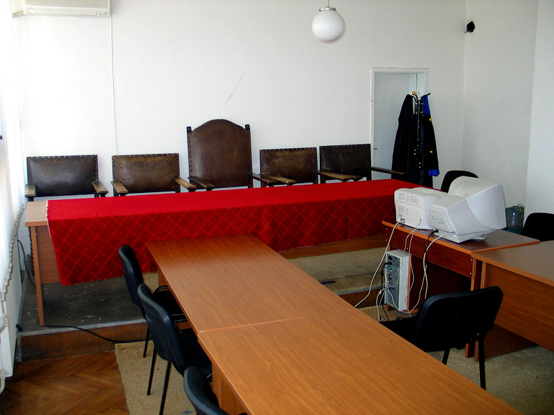 War Crimes Courtroom in Pristina, Kosovo.jpg