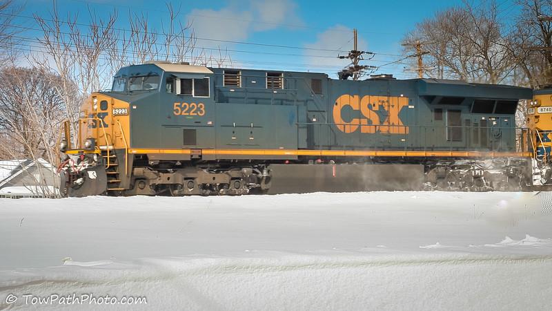ES40DC (CSXT 5223)