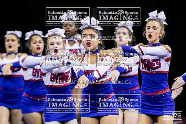 Byrnes High School State Cheer 2018