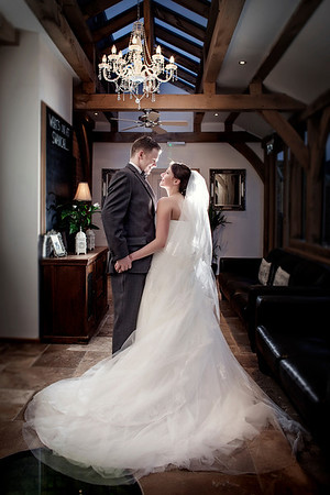 Laura and Andrew's Spring Wedding at Swancar Farm