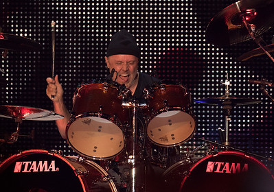 Lars Ulrich, drummer for Metallica is still going strong as Metallica headlined the second concert in US Bank Stadium on August 20, 2016 in Minneapolis, Minn. [ Special to Star Tribune, photo by Matt Blewett, Matte B Photography, matt@mattebphoto.com, Metallica, Avenged Sevenfold, Volbeat