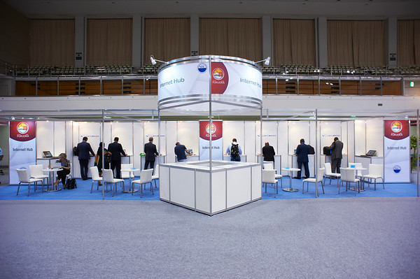 SIU2012_Exhibit Hall