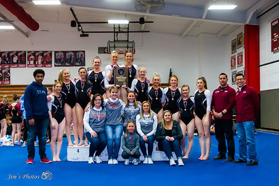 HS Sports - Div 2 Gymnastics Sectionals - Feb 22, 2018