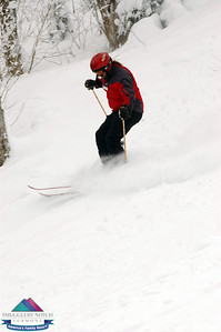 Jan.21st-Smugglers' Notch-Justin's group Powder Shots