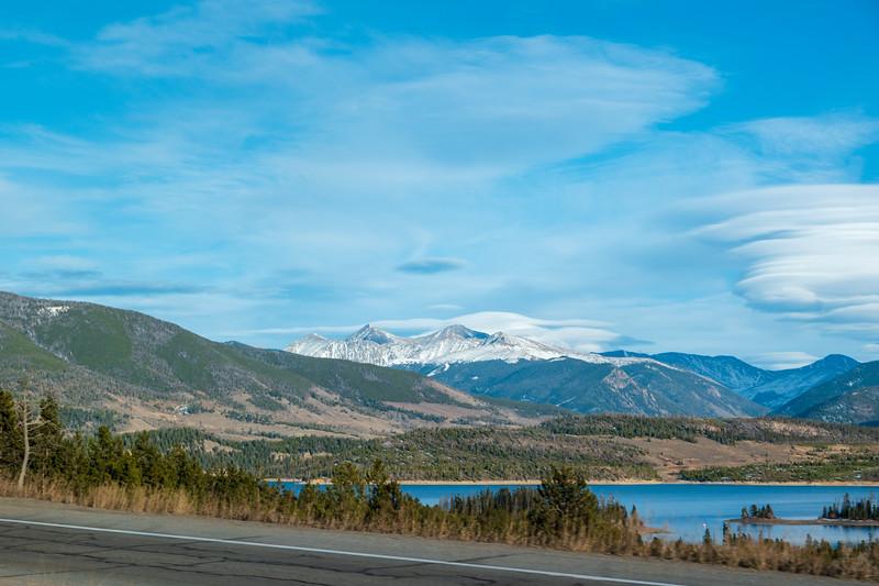 Colorado I-70 Near Breckenridge