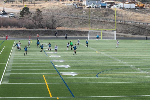 EHS Girls Varsity Soccer vs. Conifer - Mountain Bowl 2020