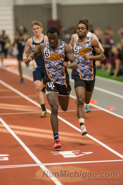WHAC Indoor 2016 - 600 Meter Run