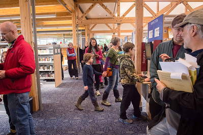 Vashon king Co Library Re-Opening 2014