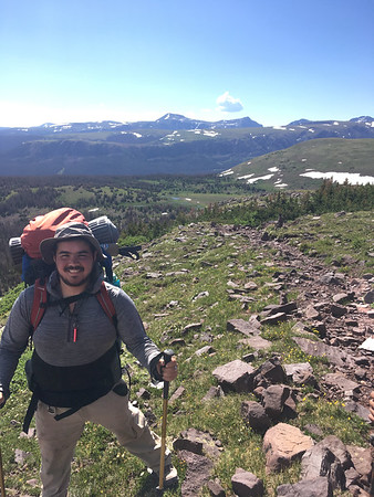 Seminarian Luis Lozano, Jr. on journey in Colorado