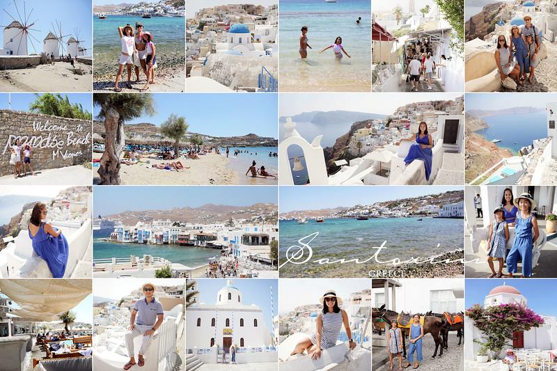 SANTORINI & MYKONOS, Greece