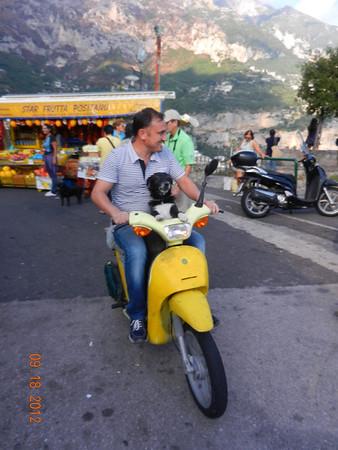 Italy: Norris Broyles III