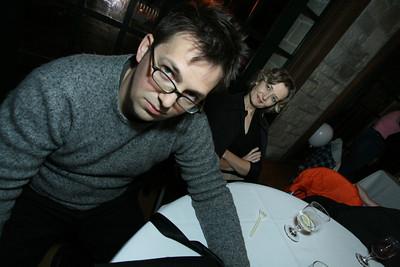 Barbara Weidman and Brock Craft: Chicago Reception - October 26, 2008