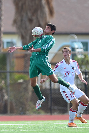 CCA Soccer vs Hilltop, 12-20-14