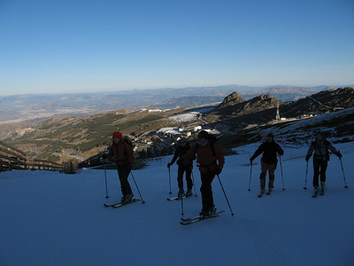 Ski Touring Veleta, Cartujo and Picon de Jerez