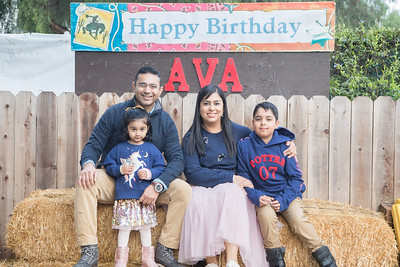 Avas 3rd Birthday