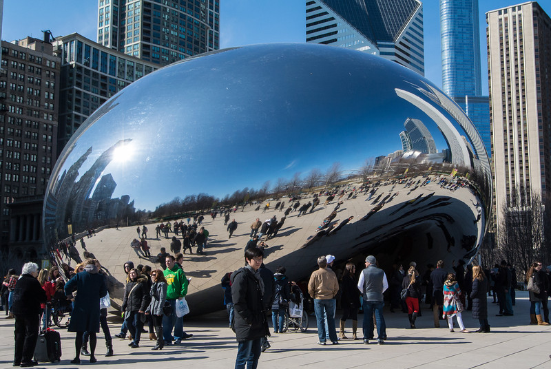 The Bean; Victoria wanted to check this out