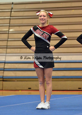 Cheer at LCC - Portland varsity - Round 2 - Jan 25