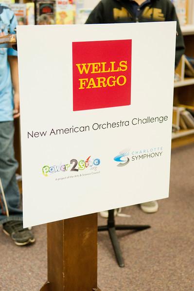 Wells Fargo @ Winterfield Elementary Challenge Gift 4-24-12 by Jon Strayhorn