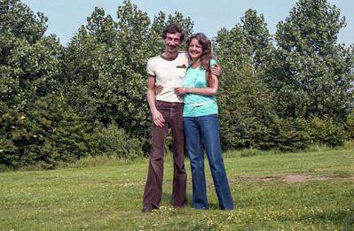 Mick & Ingrid - Early 1980s