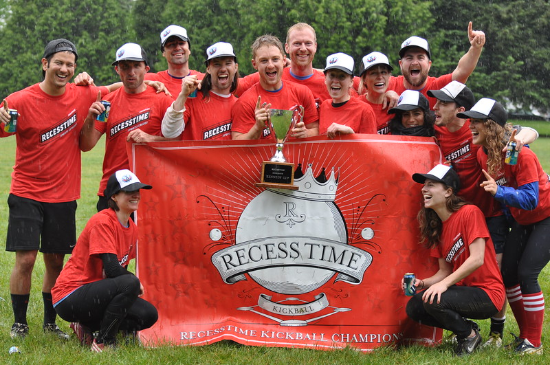 Recesstime Portland Kickball Dodgeball Bowling Ping Pong Mushball - 474