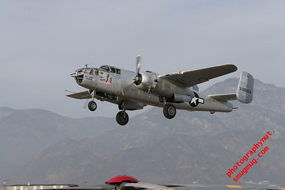 Cable Air Show B-25 Mitchell Pacific Princess 01 11 2014