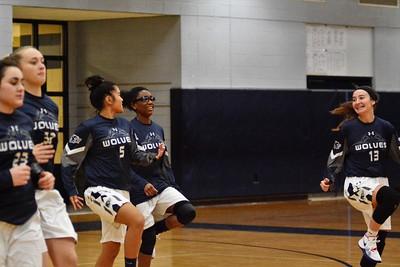 OE Varsity Girls Basketball Vs Dekalb 2018