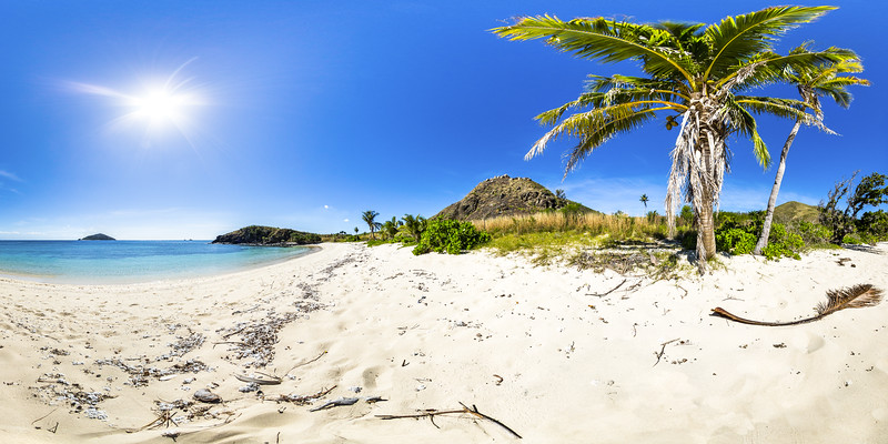 The Coconuts at Paradise Beach - Yasawa - Fiji Islands