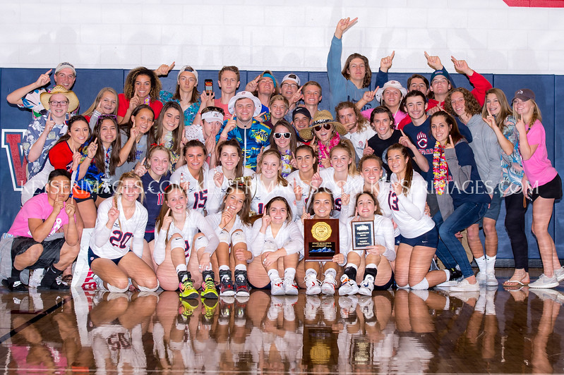 2017 Chaparral Volleyball