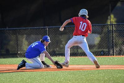 JV Baseball vs Chattanooga Patriots - Apr 2021