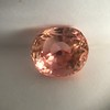 3.26ct Oval Padparadscha Sapphire No-Heat GIA 8