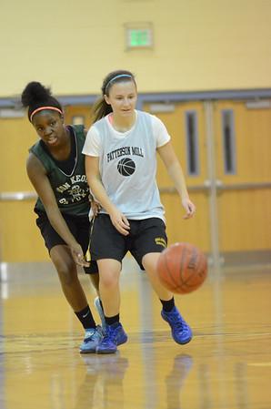JV Girls Basketball Nov 25 vs Seton Keough