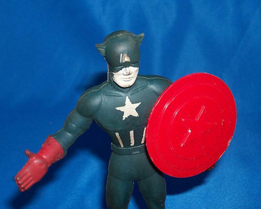 1966 Captain America Bendable