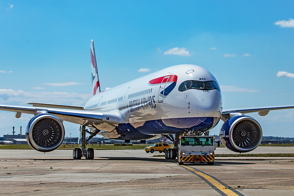 British Airways A350 Delivery Event