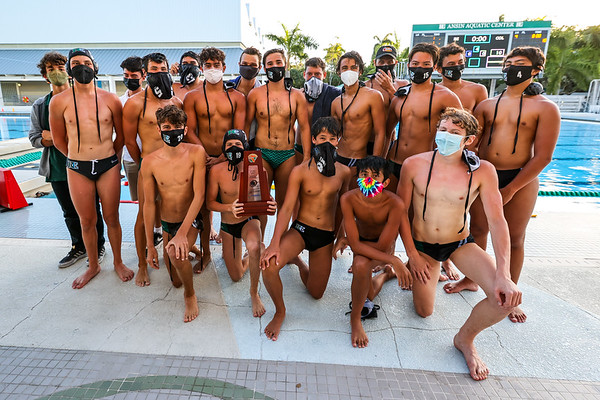 Ransom Everglades Boys Water Polo District Champions, 2021
