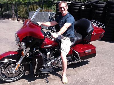 2011-09 Joe's new Harley