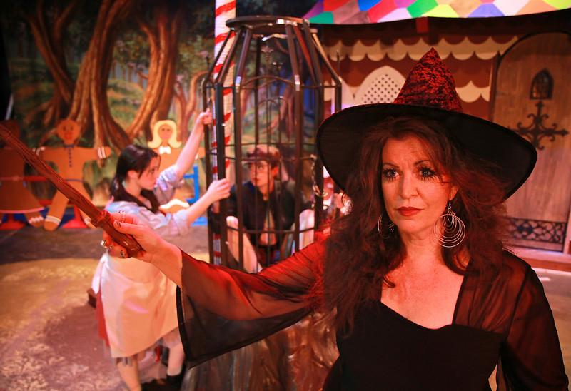 Engelbert Humperdinck's Hansel and Gretel, Fall 2011 opera production in Dover Theater on the campus of Gardner-Webb University.