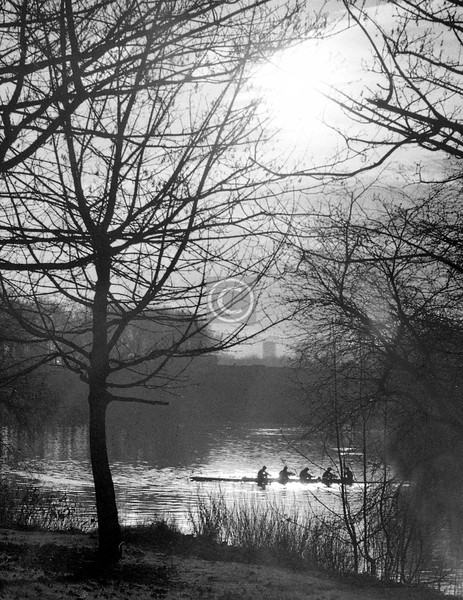 A winter afternoon.    December 1975