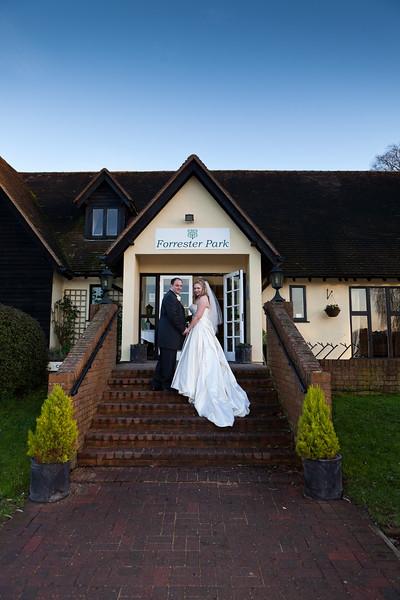 Wedding at Forrester Park