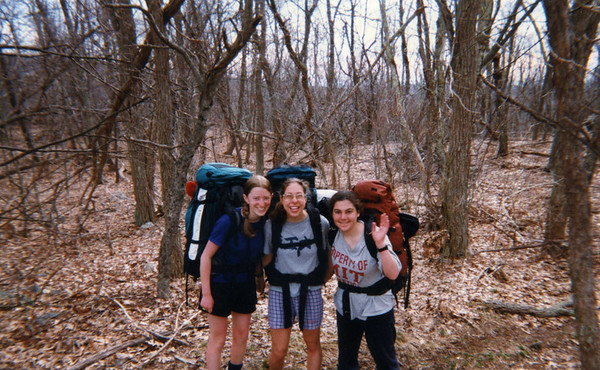 Shenandoah Backpacking with Janis and Becky