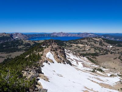 Mount Scott - Crater Lake NP  7/15/16