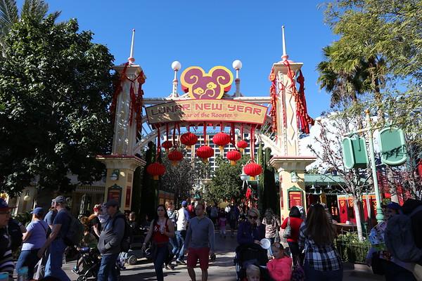 Disneyland for Lunar New Year
