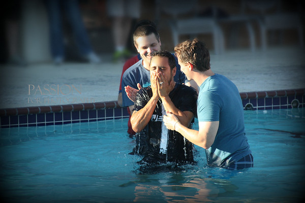 Second Baptist Baptisms