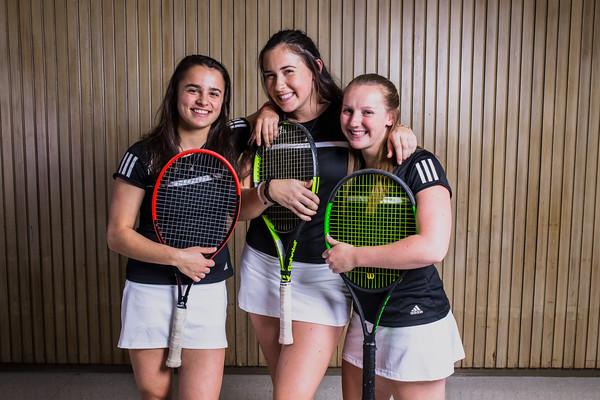 Women's Tennis Portraits