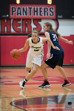 Lady Dragon Basketball 16-17