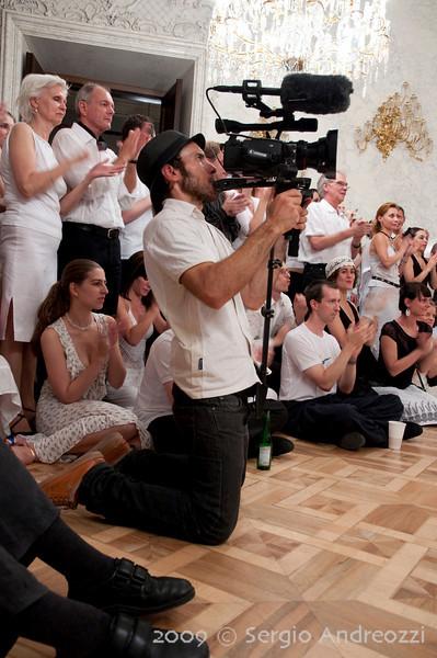 White Milonga: the cameraman