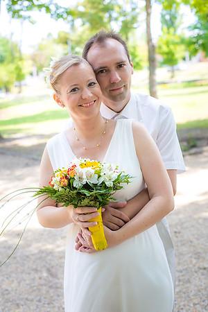 Adri és János esküvője
