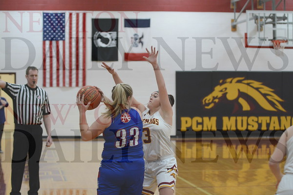 PCM Girls  Basketball vs. Albia 2-9-19