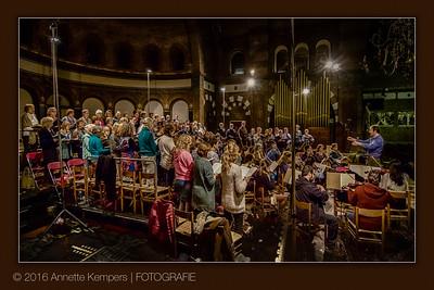 Generale repetitie Hohe Messe