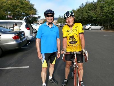 September 27 Wednesday Ride