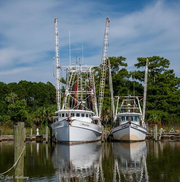 Shrimp Boats, Apalachicola, Florida